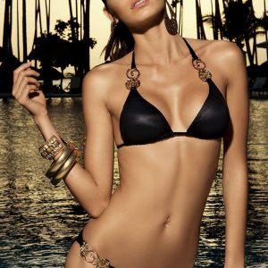 Luksusowy dwuczęściowy kostium kąpielowy Alegra z usztywnianym biustonoszem