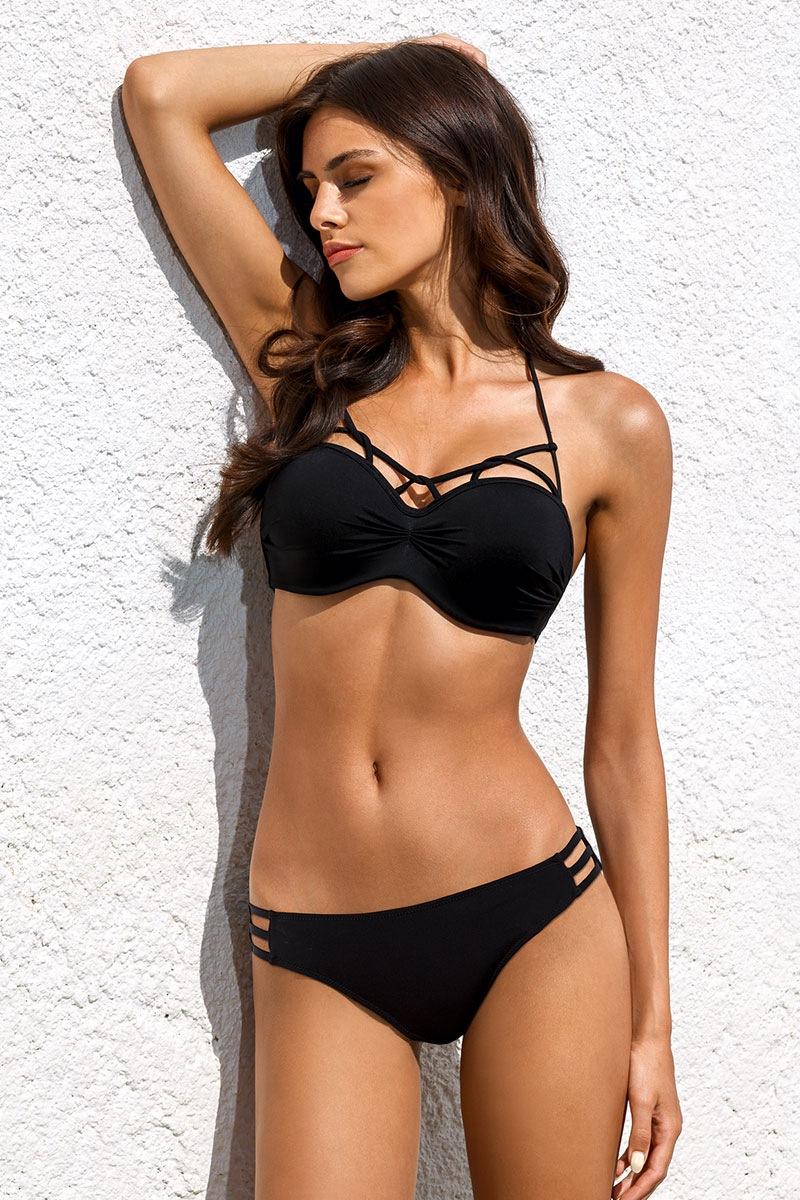 Dwuczęściowy kostium kąpielowy Lyric